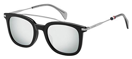 Tommy Hilfiger TH 1515/S T4 807 49 Montures de lunettes, Noir (Black/Grey), Homme