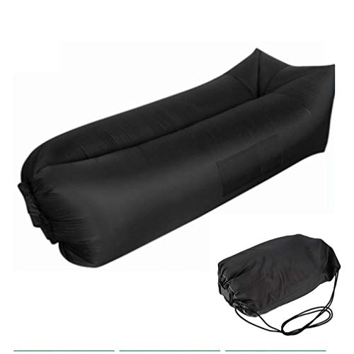 ALTERDJ Aufblasbares Sofa,Wasserdichtes Luftsofa Couch Outdoor Luft Sitzsack Tragbare Luftsack Strand Schnelle Aufblasbares Lounger mit Reißfestem Gewebe,Kompakte Tragetasche,zum Camping,Picknick