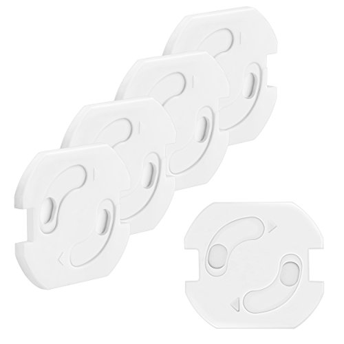 Mumbi 5-delige set kinderbeveiliging voor stopcontacten - contactdoos met draaimechanisme