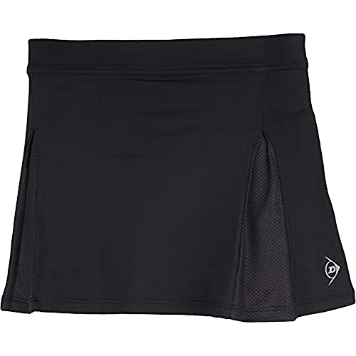 Dunlop Damen Club Line Ladies Skirt, Schwarz, S