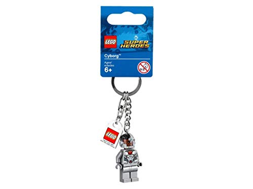DC Comics - Lego DC Super Heroes–Portachiavi Cyborg–853772