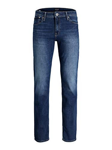 JACK & JONES Male Regular fit Jeans Clark Original AM 350 2932Blue Denim