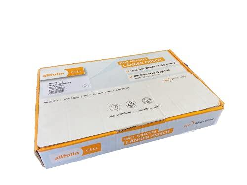 Allfolin Cell – Färskhetsark tryckt, 1/16 180 x 240 mm, 2 000 stycken (brödpapper och korvpapper)