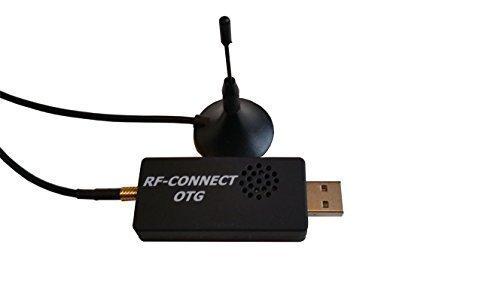 WyJen RTL-SDR Ultra Accurate Tuner (24-1700MHZ) with 0.5PPM TCXO RTL2832U/R820T & MCX Antenna receives ADS-B & FM+DAB/DVB-T Signals