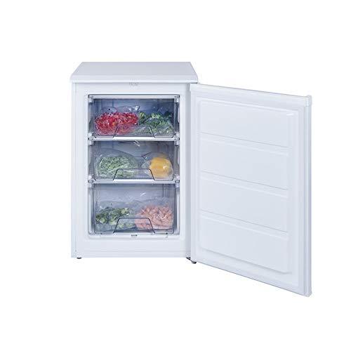 Teka TG1 80 - Congelador (Termostato regulable, Tres cajones, Una cubitera, Puerta reversible, 94 litros brutos, 84 litros netos, A+) blanco
