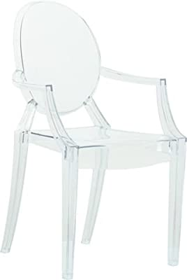 Oui Home - Sillón Estilo Louis Ghost Transparente: Amazon.es ...