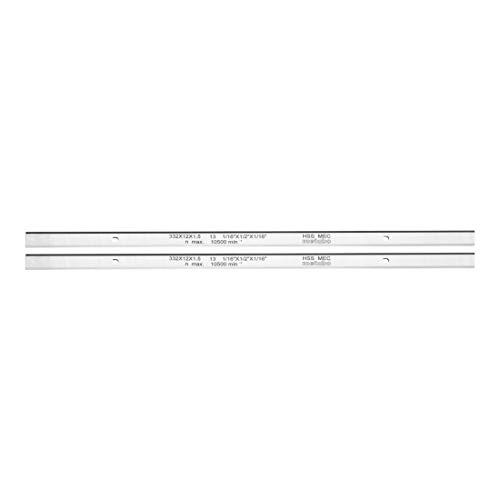 Metabo 911063549 Hobelmesser HSS 332x12x1,5, Farbe, Size
