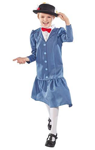 DISNEY ~ Mary Poppins - Kids Costume 5 - 6 years