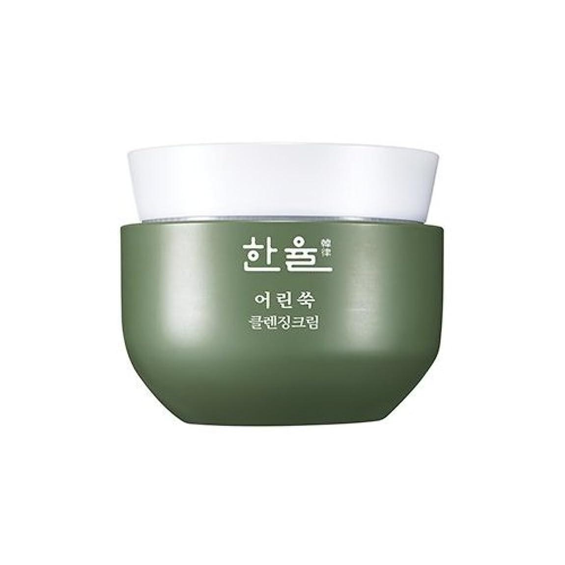 大臣肯定的歴史的Hanyul Pure Artemisia Cleansing Cream