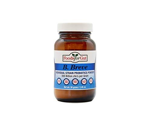 Bifidobacterium Breve Probiotic Powder 300 Billion cfu's 30 Gram | Digestive & Immune Support | High Potency | B. Breve