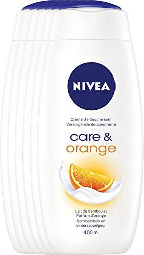 Nivea Duschcreme Pflege & orange, 400 ml