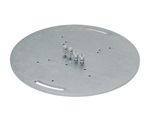 ALUTRUSS Stahlbodenplatte rund Typ A