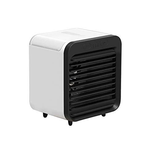 LanTianX Mini Humidificador PortáTil para Aire Acondicionado USB, Enfriador De Aire, Ventilador Fijo, Humidificador De Escritorio con Ventilador Recargable