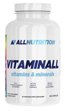 All Nutrition Vitaminall Vitamins and Minerals 60 Capsules