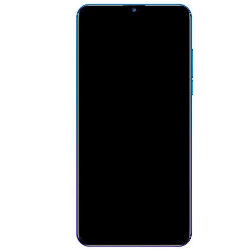 Huante MT6580A MT6580A Quad Core Android 6.0 3G Delantero 5MP Trasero 8MP Teléfonos Portátil Violeta Enchufe UE 6.26 pulgadas HD + 2GB + 16GB