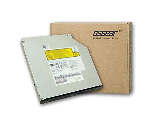 OSGEAR Intern 9.5mm slim SATA 8x DVDRW CD DVD RW Rom Burner Writer M-Disc Laptop PC Mac Tray Laden des optische Laufwerks für Acer Asus HP Dell Lenovo Toshbia