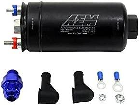 AEM 380LPH High Pressure Fuel Pump -6AN Female Out, -10AN Female In (aem50-1005)