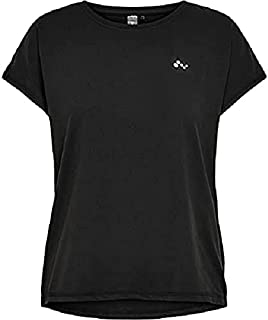 Only Women's Onpaubree Ss Loose Training Tee - Opus T-Shirt