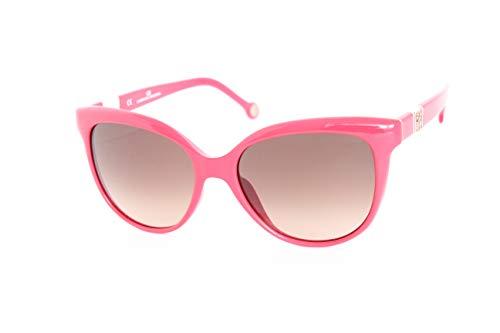 Carolina Herrera SHE69707FU Gafas de sol, Rojo, 53 para Mujer