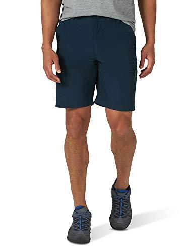 Wrangler Authentics Men's Side Elastic Utility Short, Imperial Blue, 34