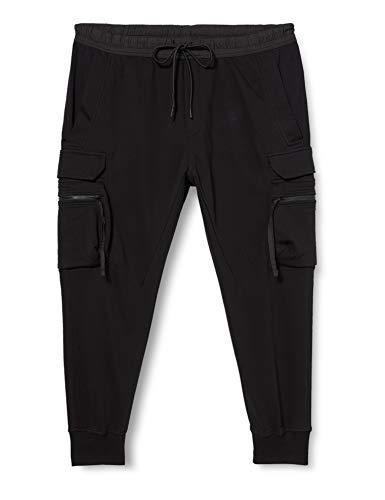 Urban Classics Herren Jogging Tactical Sweat Pants Klassische Hose, Black, L