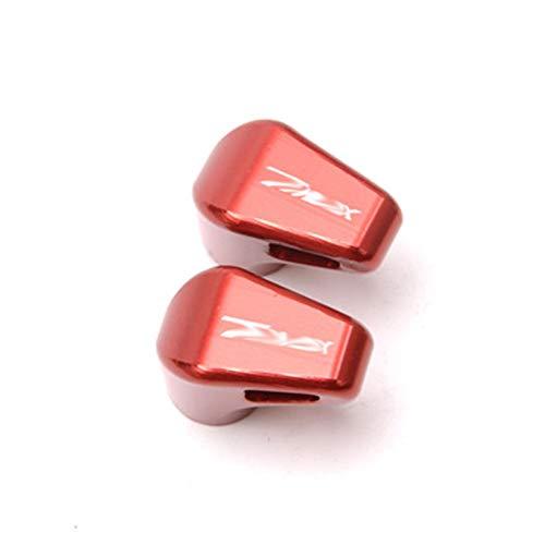 JINBINB / Apto para Yamaha T MAX 530 2012-2015 Tmax 500 2008-2011 T-MAX 560 2020 Válvula de neumático de la Rueda de la Motocicleta Tapa de los Tallos Cubiertas herméticas (Color : Red)