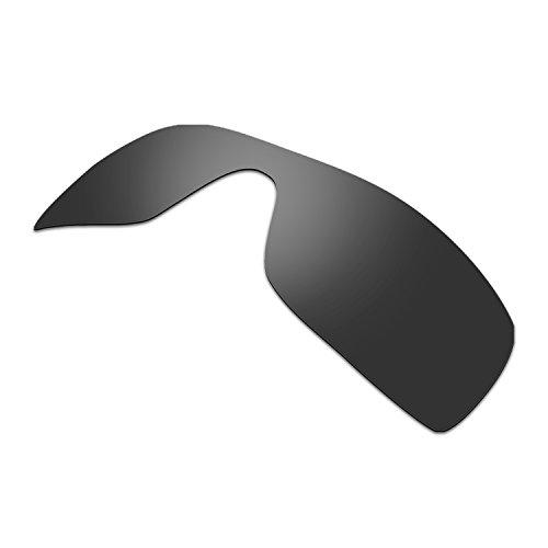 HKUCO HKUCO Plus Mens Replacement Lenses For Oakley Batwolf Sunglasses Black Polarized