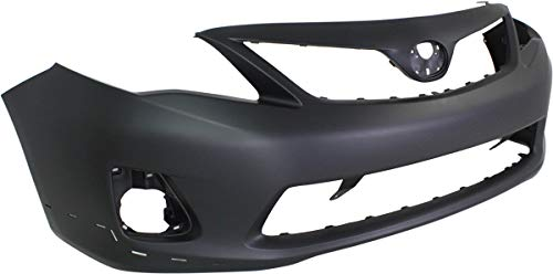 Rear Bumper Cover Compatible with 2011-2013 Toyota Corolla Primed S//XRS Models North America Built