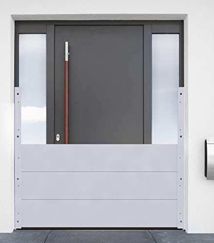 HOWA KIT - Mobiler Hochwasserschutz Aluminium Dammbalkensystem Höhe: 60 cm (Aluminium, Breite: 120 cm)