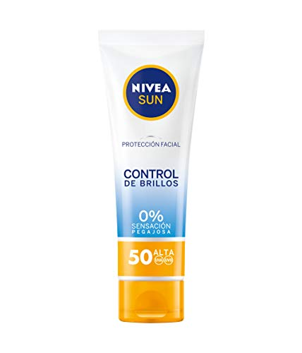 Nivea Sun Protección Facial Control de Brillos FP50, 50ml