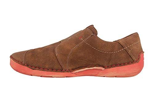 Josef Seibel Zapatos De Cuero Para Mujer Fergey 88 59688-869, Talla:40 Eu, Color:marrón