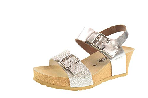 Mephisto Chaussures Femme Sandales Lissandra Argento Taille 37 Argent