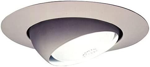HALO 78P 6-Inch Eyeball Light Trim, White