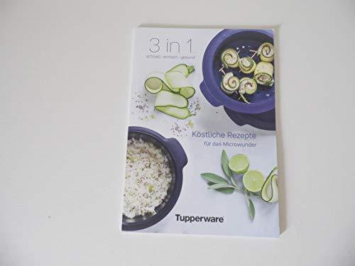 Tupperware Libro de recetas recetas deliciosas recetas para el microwunder nuevo apartado