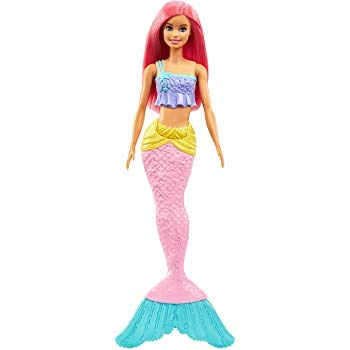Boneca Barbie Sereia Dreamtopia Cabelo Rosa Ggc09 Mattel