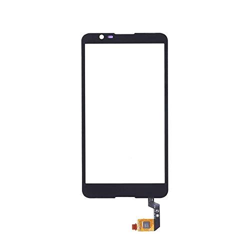 JayTong Pantalla de Repuesto Digitalizador Pantalla Táctil Frontal Vidrio con Gratis Herramientas para Sony Xperia E4 E2104 E2105 E2115 E2124 (Not LCD Display) Negro