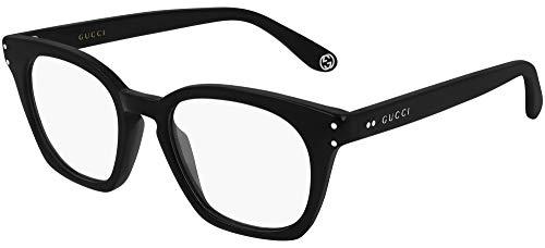 Occhiali da vista Gucci GG0572O BLACK 48/19/150 uomo