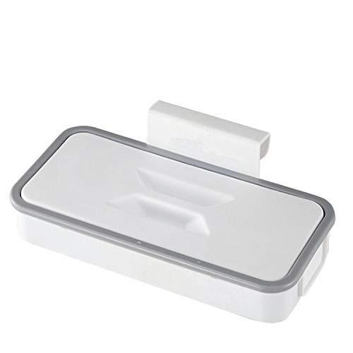 CYSJ Soporte para Bolsa de Basura Portátil, Estante de Almacenamiento de Bolsas de Basura para Colgar de Plástico, Cubos de Basura Colgando para la Cocina para Almacenamiento de Basura en la Cocina