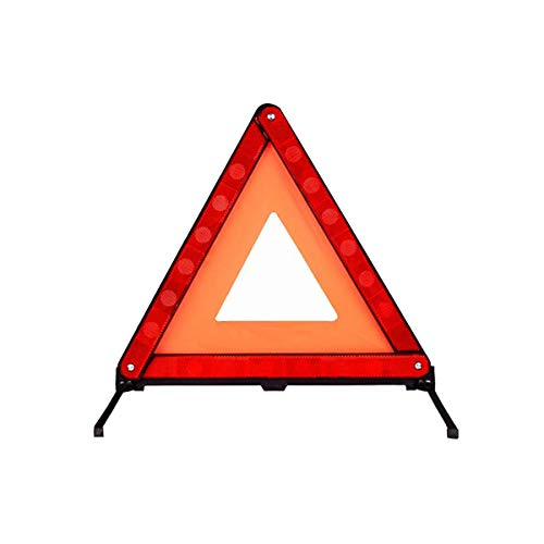 Warndreieck ECE, Faltbarer Notfallreflektor Straßenschild Warndreieck mit Aufbewahrungsbox