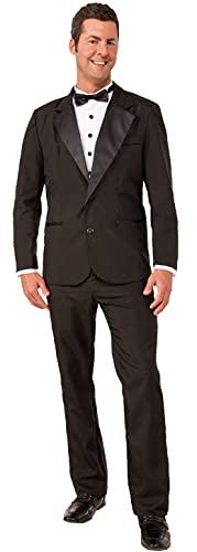 Forum Novelties Men's Instant Zip-Up Tuxedo Costume