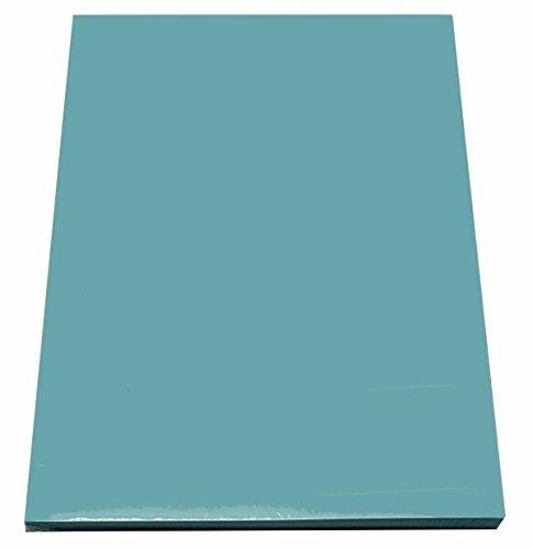 100 Blatt farbiges Druckerpapier / buntes Kopierpapier / Farbe: pastell blau
