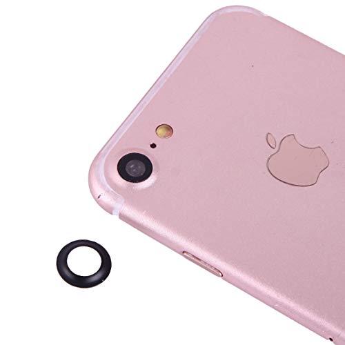 XUAILI Webcam afdekking achtercamera lens beschermer met naald, voor iPhone 7, zwart