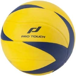 Pro Touch Unisex– Erwachsene Mp-150 Volleyball, GELB/BLAU, 5