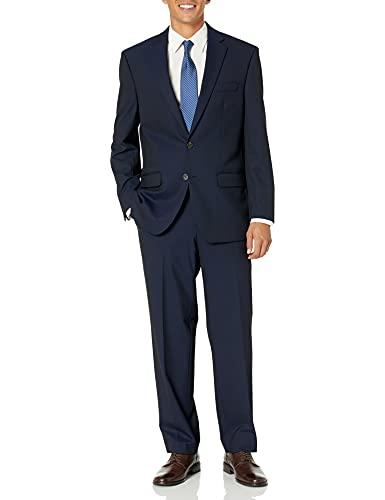 Chaps Black Classic Fit Suit