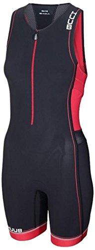 Huub Core Traje, Mujer, Negro/Rojo, M