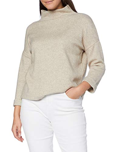 OPUS Damen Giliane Sweatshirt, Creamy Camel, 38