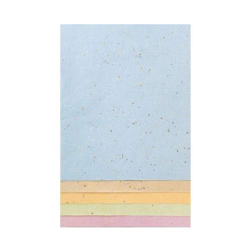 料紙 篝火 細字 5色セット 半懐紙 20枚 AG87-2