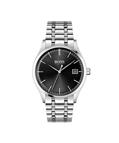 Hugo BOSS Men's Analog Quartz Watch with Stainless Steel Strap 1513833