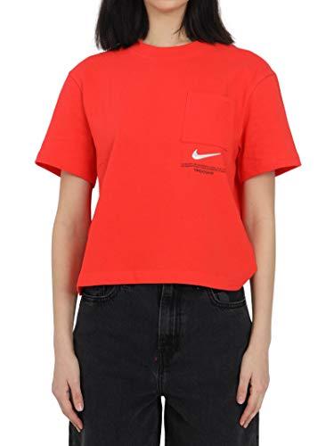 Nike Camiseta de mujer coral CZ8911 696 rojo M