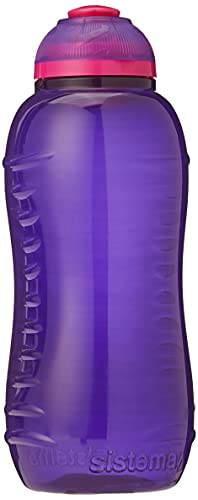 Sistema Twist 'n' Sip Bouteille d'eau sans BPA, couleurs assorties, 330 ml